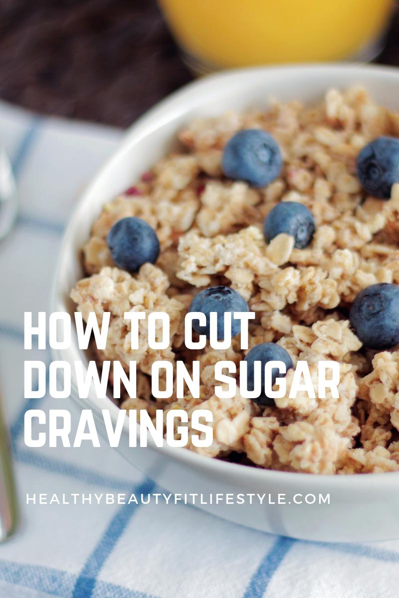 cut down on sugar cravings